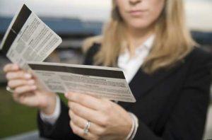 Как сдать билет на самолт